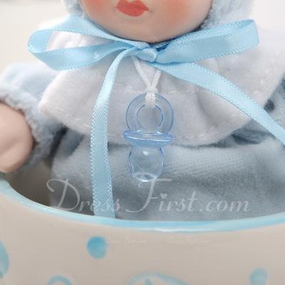 Cute Baby Ceramic/Resin Music Box (051051235)