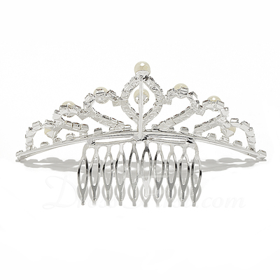 Gorgeous Alloy/Imitation Pearls Combs & Barrettes (042015968)