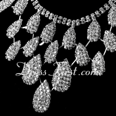 Shining Alloy With Crystal Ladies' Jewelry Sets (011027185)