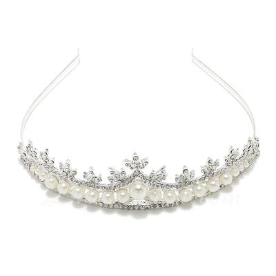 Amazing Alloy/Imitation Pearls Tiaras (042057195)