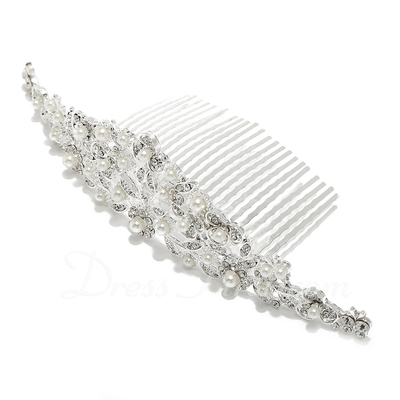 Exquisite Alloy/Imitation Pearls Combs & Barrettes (042057197)