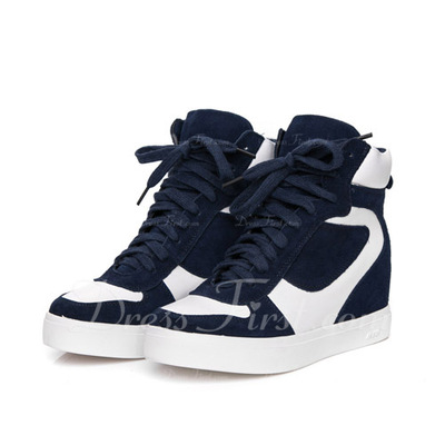 Gerçek Deri Alçak Topuk Daireler Kapalı Toe Ile Bağcıklı ayakkabı (086057525)