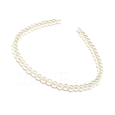 Lovely Imitation Pearls Headbands With Pearl (042019226)