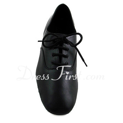 Men's Kids' Real Leather Flats Modern Dance Shoes (053012953)