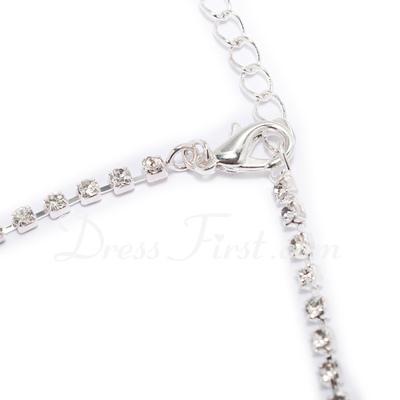 Elegant Alloy With Rhinestone Ladies' Jewelry Sets (011027479)