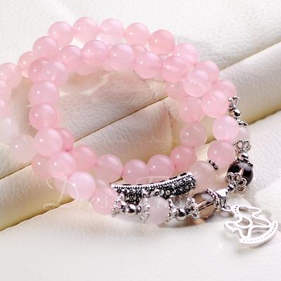 Elegant Crystal Women's Bracelets (011054942)