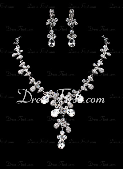 Charming Alloy/Rhinestones Ladies' Jewelry Sets (011019313)