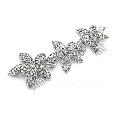 Gorgeous Alloy Hair Combs (042016815)
