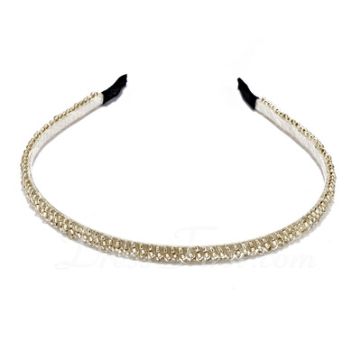Fashion Rhinestone/Acrylic Headbands (042019229)