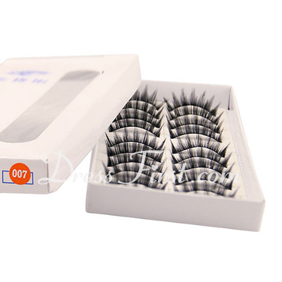 Manual Looking Curved Lashes 007# - 10 Pairs Per Box (046026689)
