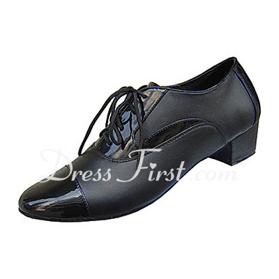 Men's Real Leather Heels Modern Ballroom Dance Shoes (053012955)