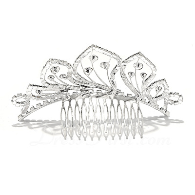 Lovely Rhinestone/Alloy Combs & Barrettes (042017053)