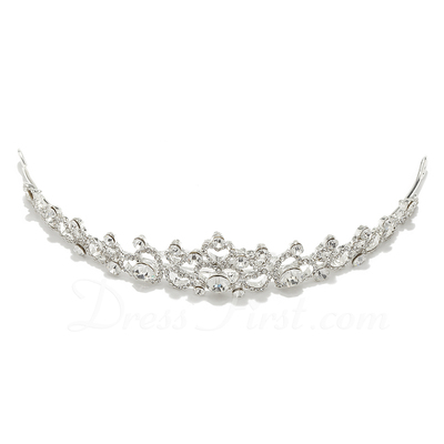 Gorgeous Crystal/Alloy Tiaras (042018457)