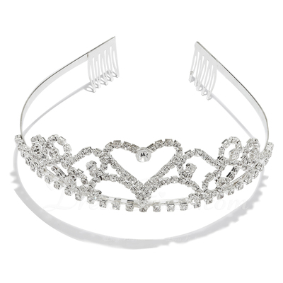 Fashion Rhinestone/Alloy Tiaras (042004259)