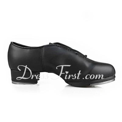 Women's Men's Unisex Leatherette Heels Tap Dance Shoes (053013333)