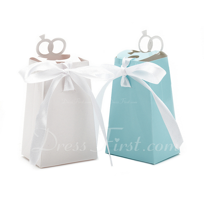 With This Ring Favor Boxes With Ribbons (Set of 12) (050013604)