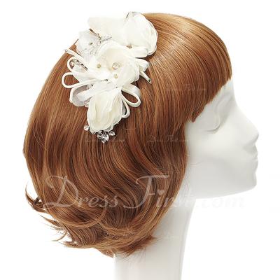 Special Rhinestone/Chiffon Flowers & Feathers (042028738)