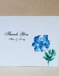 Personalized Flower Design Hard Card Paper Thank You Cards (Set of 50) (118029378)