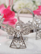 Angel Design Zinc Alloy Napkin Rings (Set of 4) (051020305)
