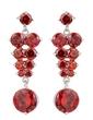 Beautiful Alloy/Cubic Zirconia Ladies' Earrings (011036701)