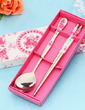 Flower Design Stainless Steel Spoon and Chopsticks Set (051026887)