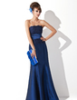 Trumpet/Mermaid Strapless Floor-Length Taffeta Evening Dress With Ruffle (017020323)