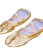 Women's Kids' Leatherette Flats Ballet Dance Shoes (053018646)