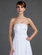 Corte A/Princesa Estrapless Cola corte Chifón Vestido de novia con Bordado Los appliques Encaje (002012572)