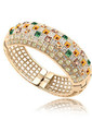 Bangles & Cuffs Alloy With Rhinestone Crystal Women's Bracelets (011037158)
