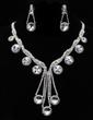 Beautiful Alloy/Rhinestones Women's Jewelry Sets (011019342)