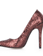 Sparkling Glitter Stiletto Heel Pumps Closed Toe shoes (085020586)