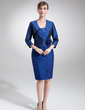 3/4-Length Sleeve Taffeta Special Occasion Wrap (013012308)