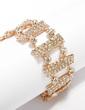 Alloy With Rhinestone Ladies' Bracelets (011033350)