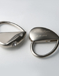Personalized Heart Shaped Zinc Alloy Keychains With Diamond Rhinestone (Set of 4) (051028935)
