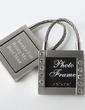 Personalized Square Zinc Alloy Keychains/Photo Frame (Set of 4) (051029007)