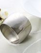 Personalized Round Stainless Steel Napkin Rings (118030950)