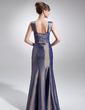Denizkızı Kalp Kesimli Uzun Etekli Tafta Gelin Annesi Elbisesi Ile Büzgü (008006090)