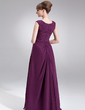 A-Line/Princess Sweetheart Floor-Length Chiffon Mother of the Bride Dress With Ruffle Beading Split Front (008006502)
