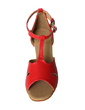 Women's Leatherette Heels Sandals Latin Ballroom With T-Strap Buckle Dance Shoes (053021753)