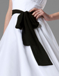 Simple Chiffon Sash With Bow (015004090)