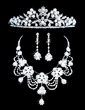 Gorgeous Alloy With Rhinestone Women's Jewelry Sets (011028607)