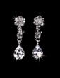 Flower Shaped Alloy/Rhinestones Ladies' Jewelry Sets (011028343)