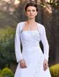 Long Sleeve Chiffon Wedding Wrap (013024368)