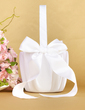 Pure Flower Basket in Satin With Bow (102018045)
