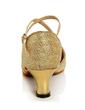 Kadın Suni deri Topuk Sandalet Latin Ile Ayakkabı Askısı Dans Ayakkabıları (053056406)