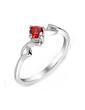 Unique Zircon/Platinum Plated Ladies' Rings (011055246)