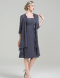 3/4-Length Sleeve Chiffon Special Occasion Wrap (013089169)