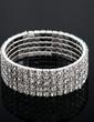 Alloy With Rhinestone Ladies' Bracelets (011033400)