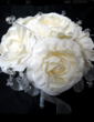 Pure Hand-tied Satin Bridal Bouquets - (123031499)