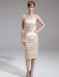 Sheath/Column Sweetheart Knee-Length Charmeuse Mother of the Bride Dress (008006402)